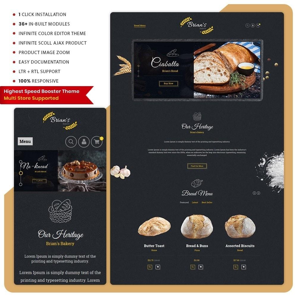 theme - Alimentos & Restaurantes - Giorgio Essen - Food Big Store - 1