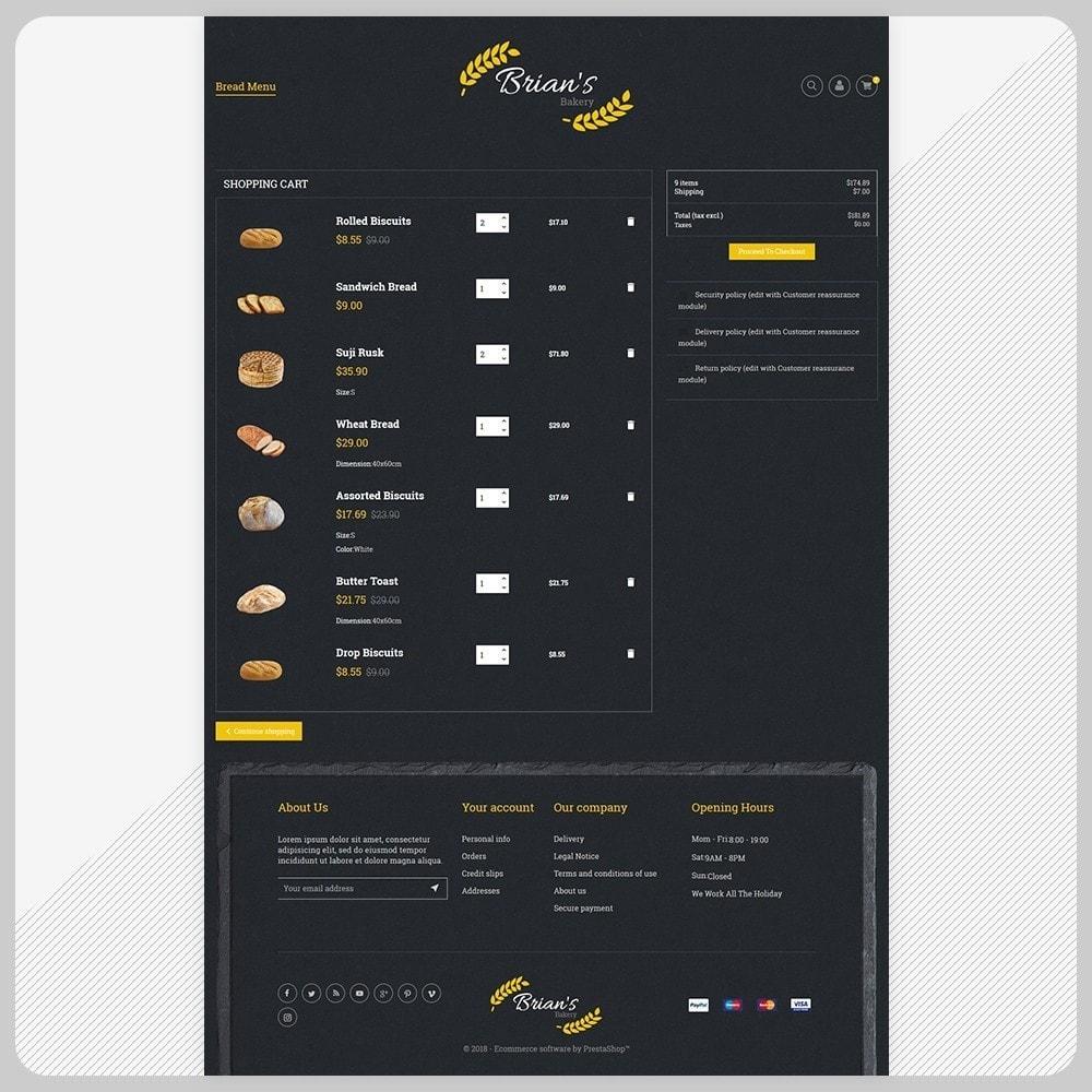 theme - Alimentos & Restaurantes - Giorgio Essen - Food Big Store - 5