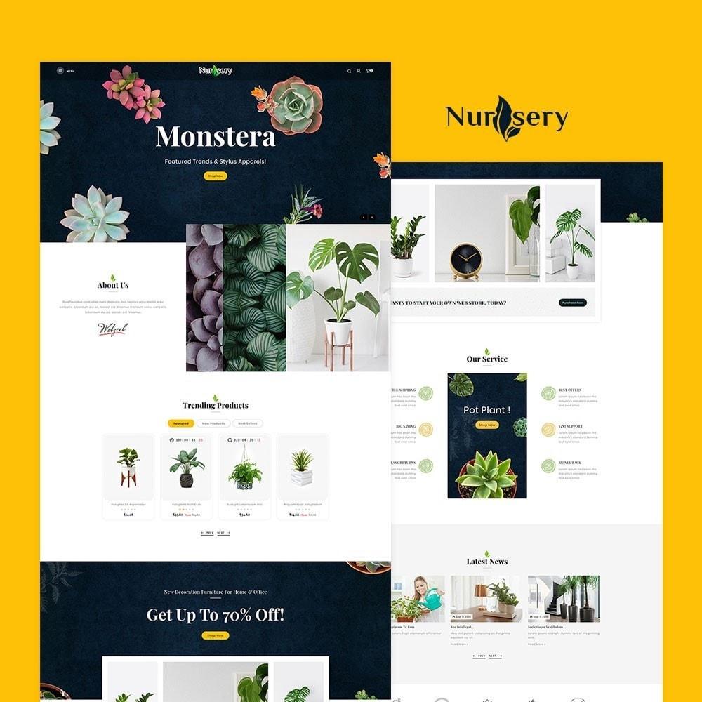 theme - Casa & Giardino - Nursery Plant & Interior - 2