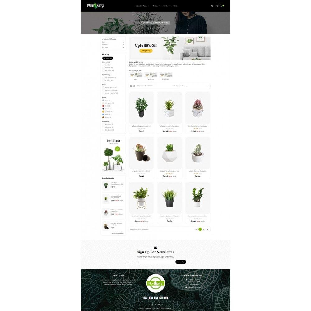 theme - Дом и сад - Nursery Plant & Green Gallery - 3