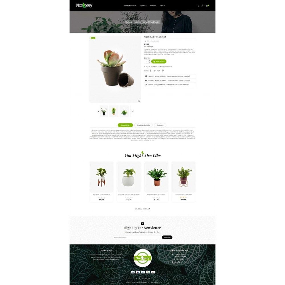 theme - Дом и сад - Nursery Plant & Green Gallery - 5