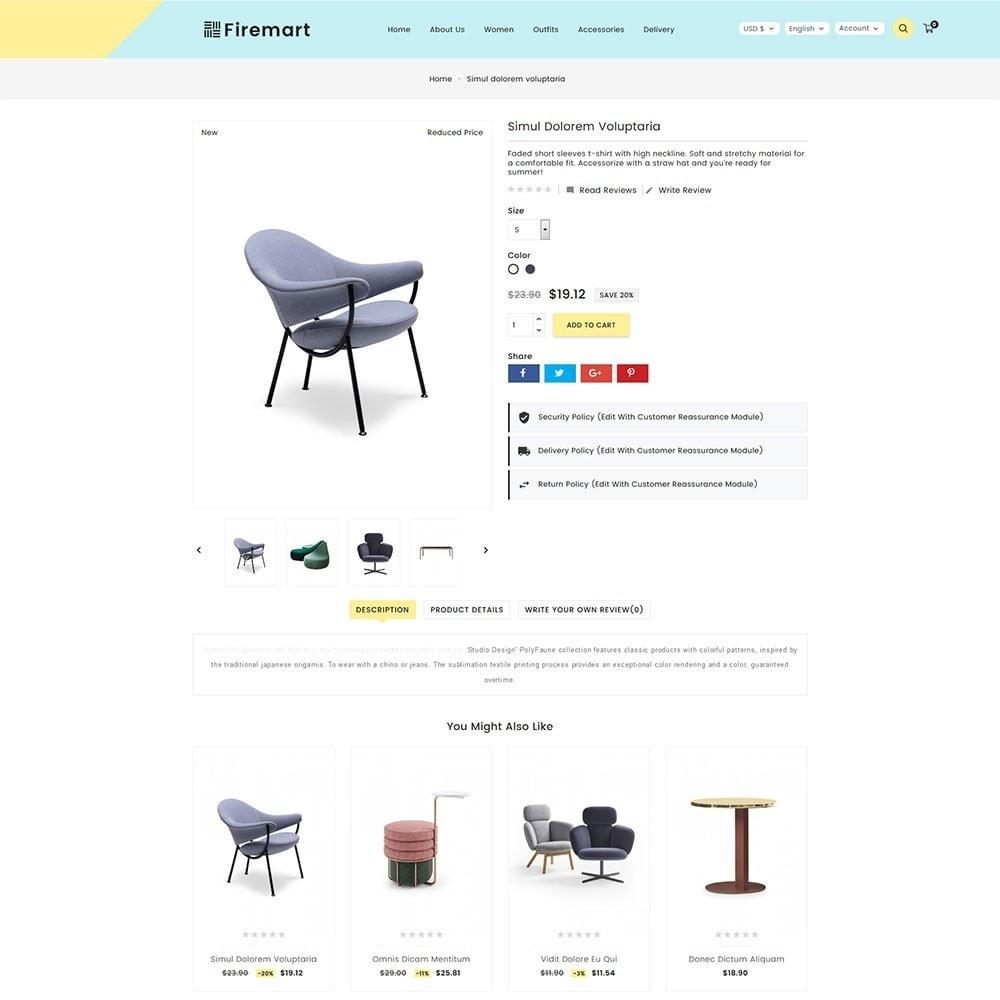theme - Дом и сад - Firemart Furniture Store - 6