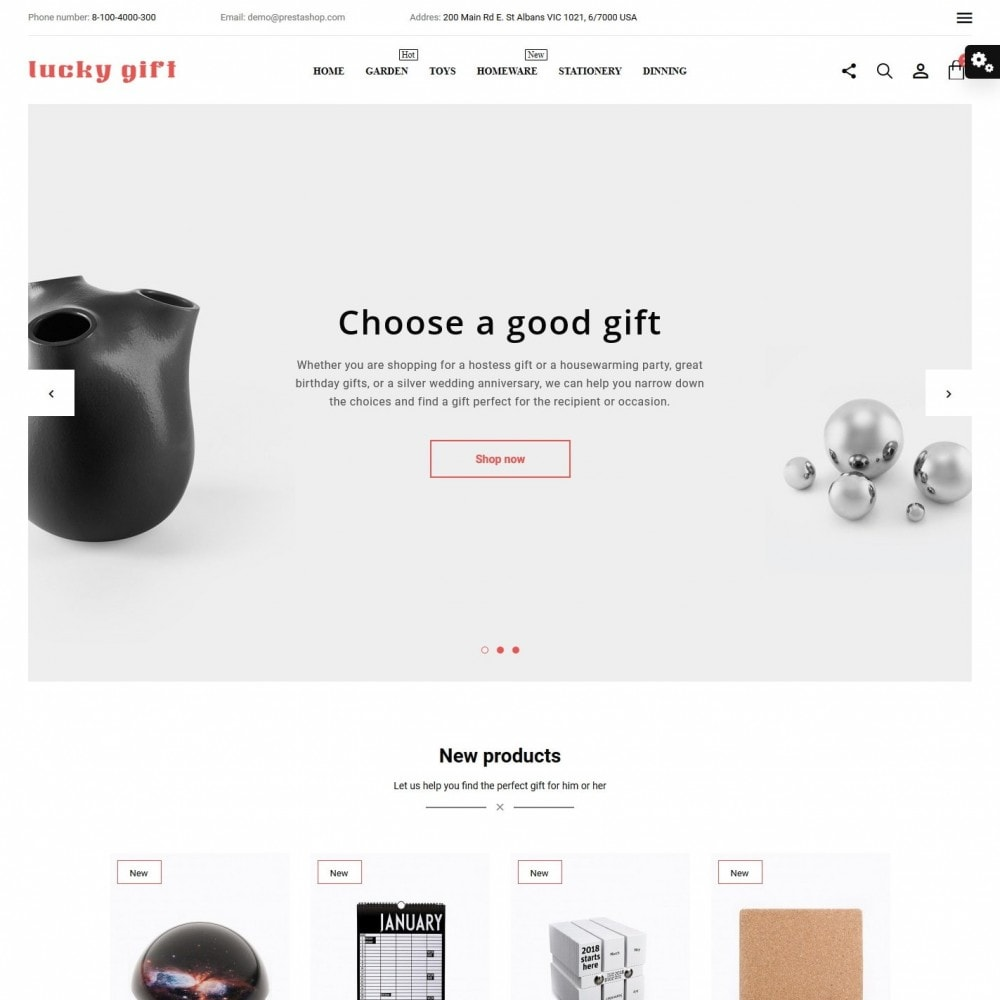 theme - Presentes, Flores & Comemorações - Lucky gift - 2