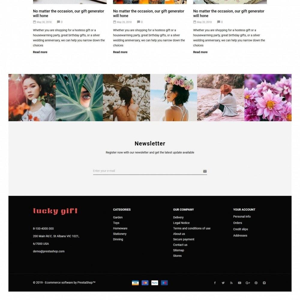 theme - Presentes, Flores & Comemorações - Lucky gift - 4
