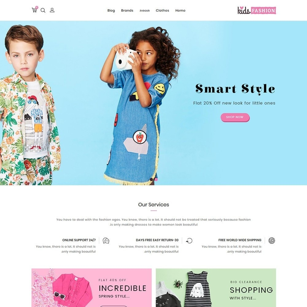 theme - Mode & Schoenen - Kids Fashion Store - 3