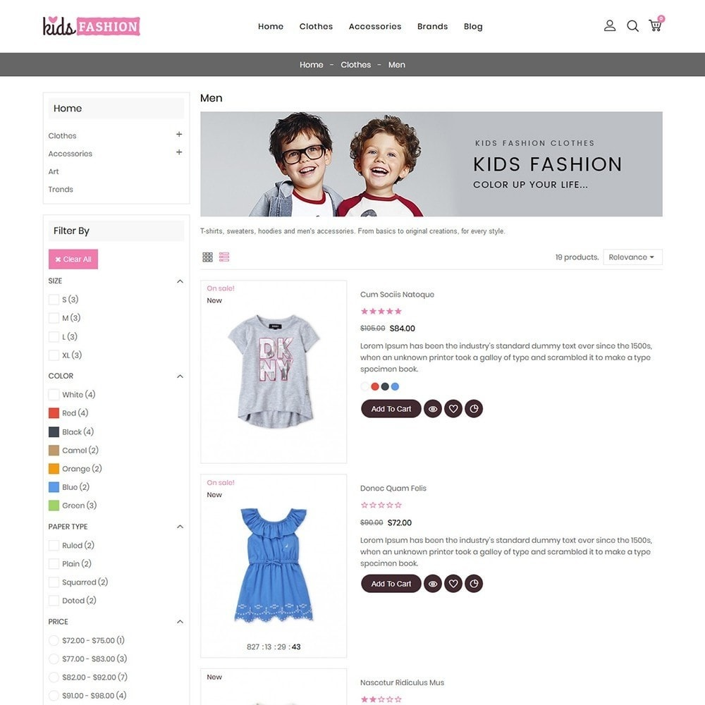 theme - Moda & Calçados - Kids Fashion Store - 5