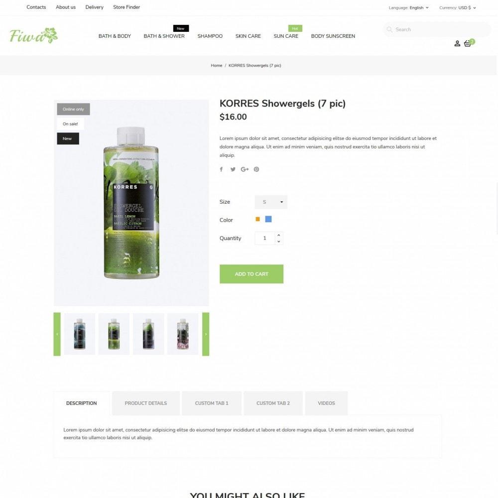 theme - Здоровье и красота - Fiwa Cosmetics - 6