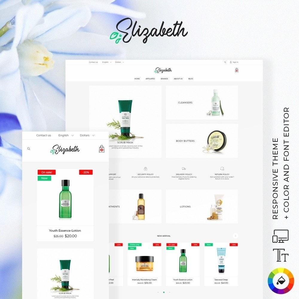 theme - Health & Beauty - Elizabeth Cosmetics - 1