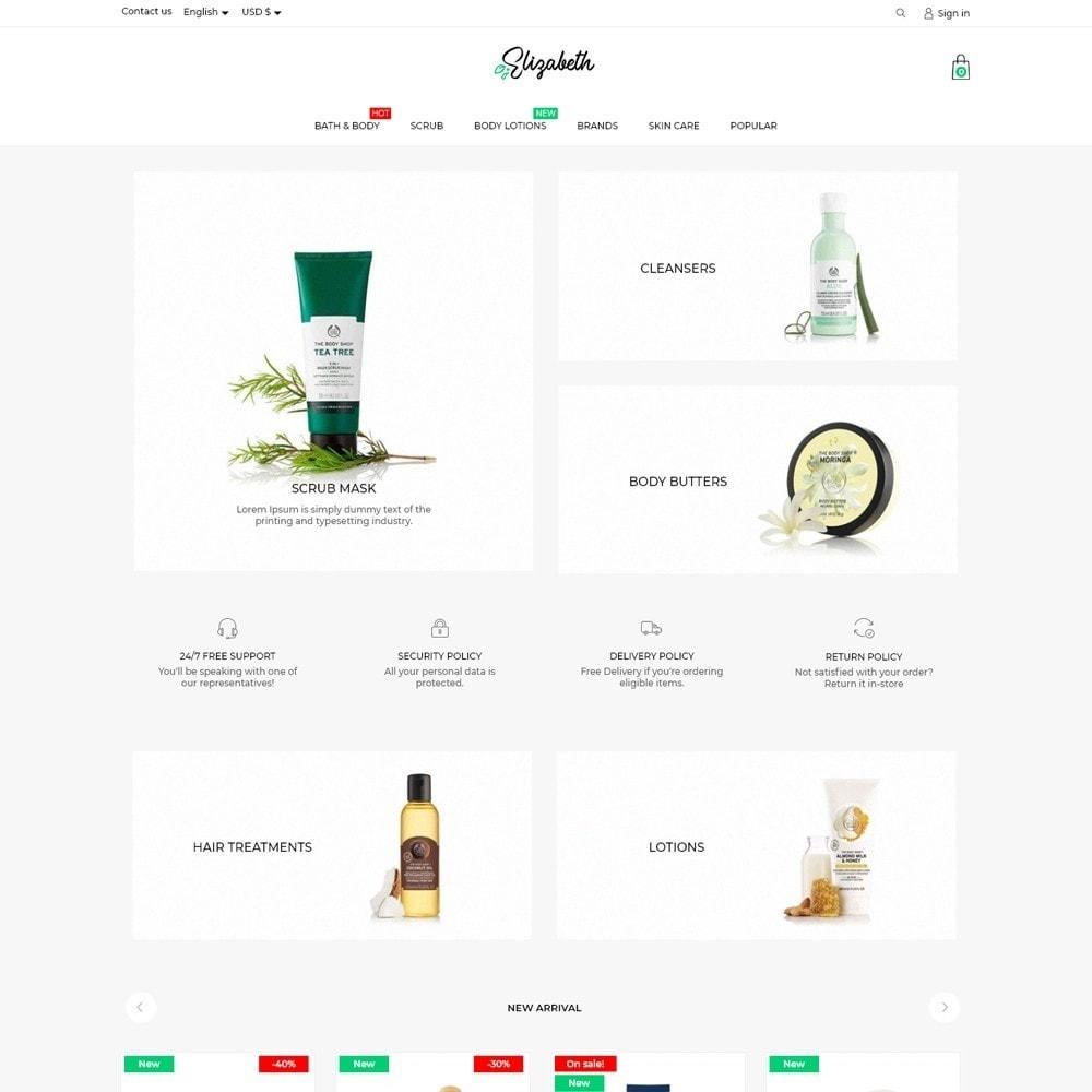 theme - Health & Beauty - Elizabeth Cosmetics - 2