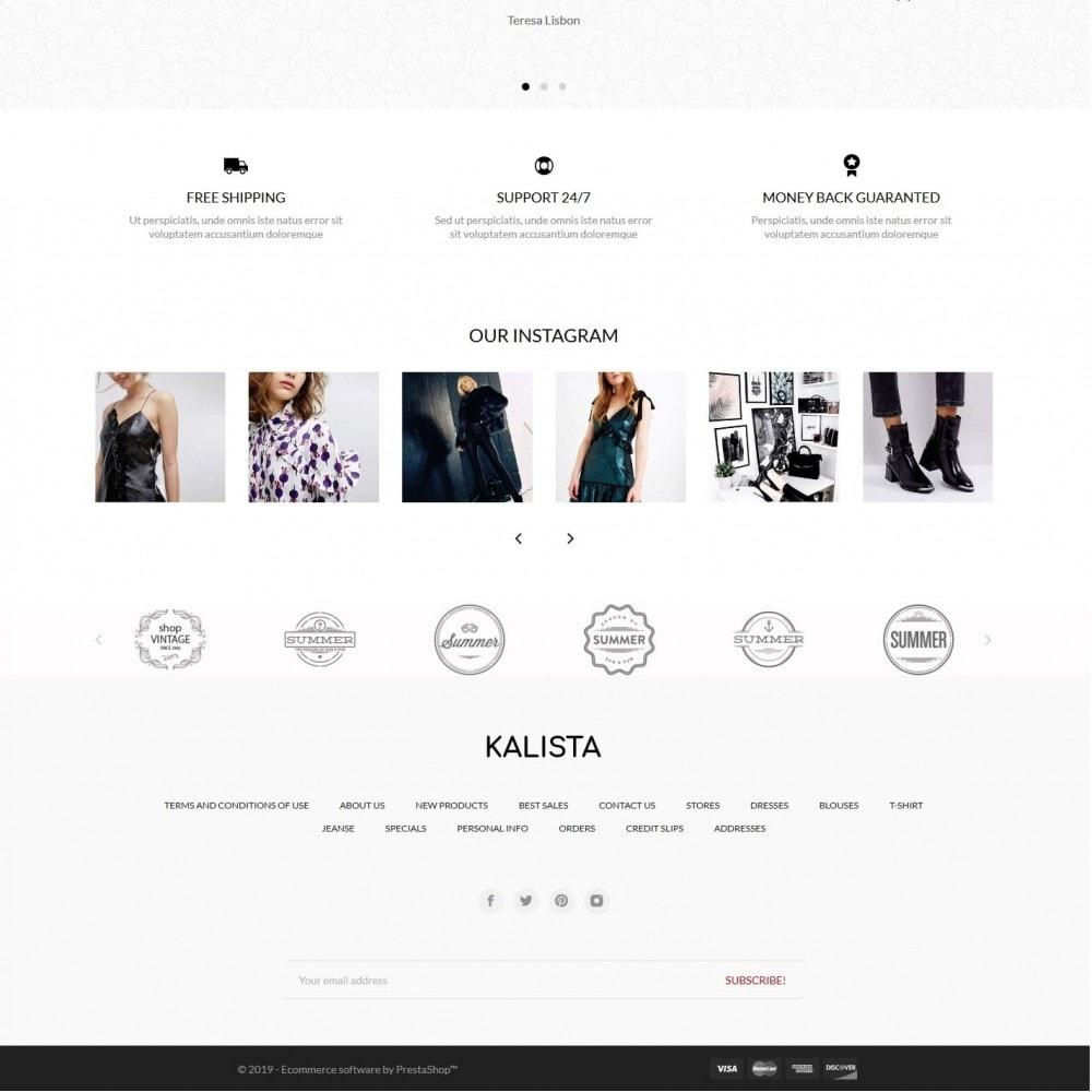 theme - Fashion & Shoes - Kalista Fashion Store - 4