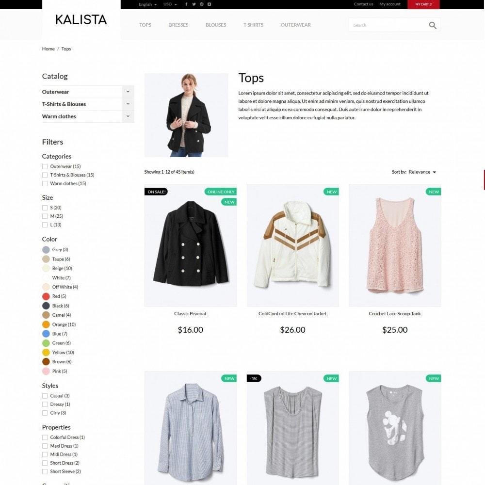 theme - Fashion & Shoes - Kalista Fashion Store - 5
