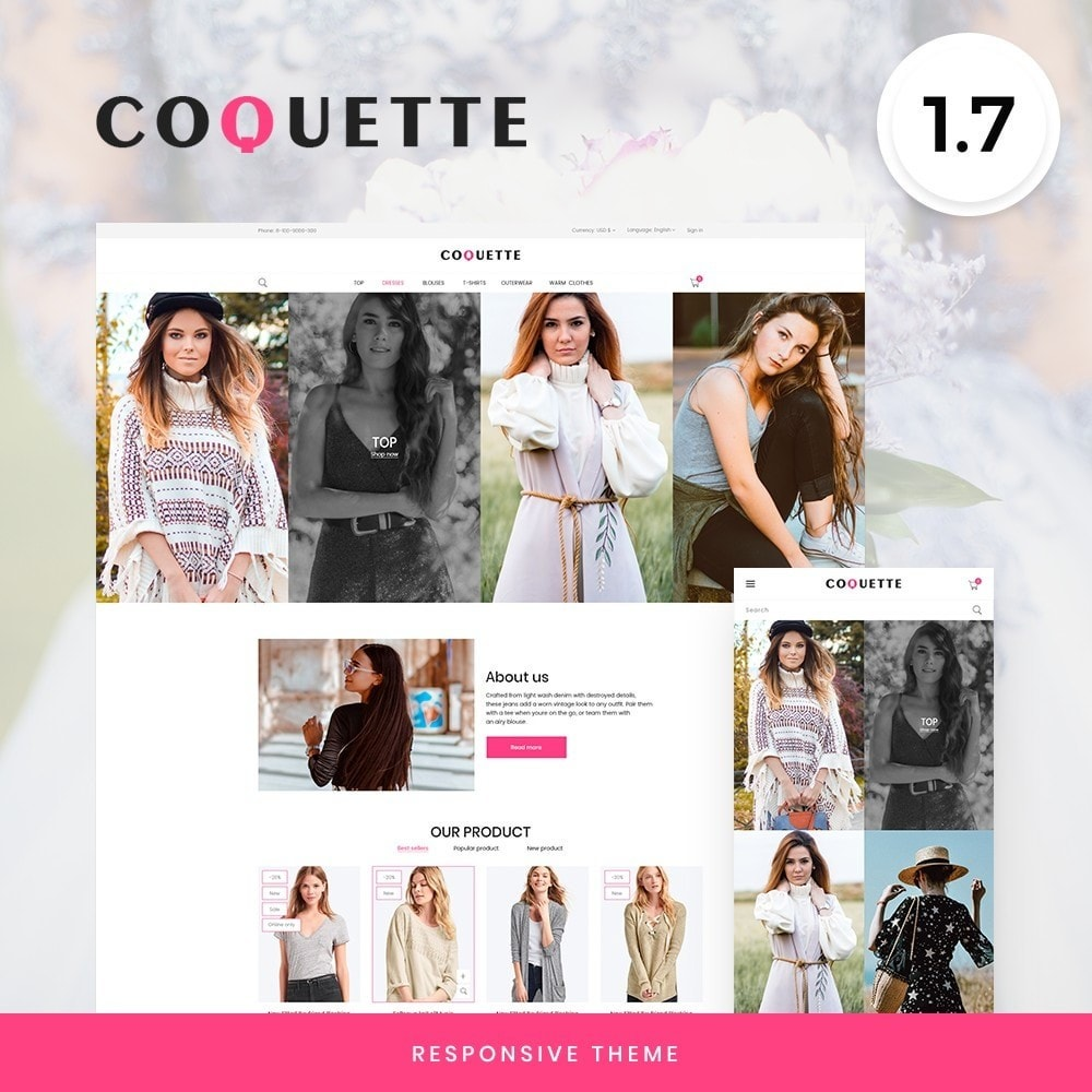 theme - Fashion & Shoes - Coquette Fashion Store - 1