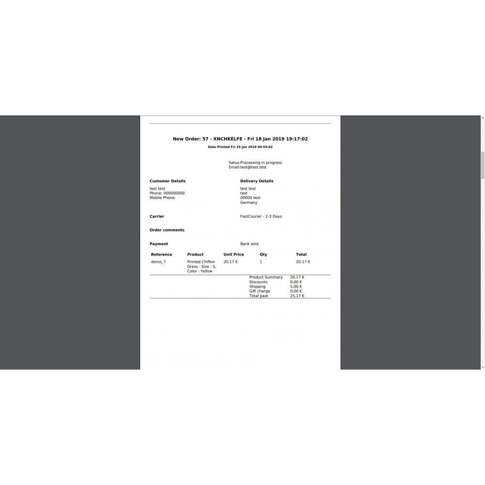 module - Gestion des Commandes - Mass Print Order Details - 5