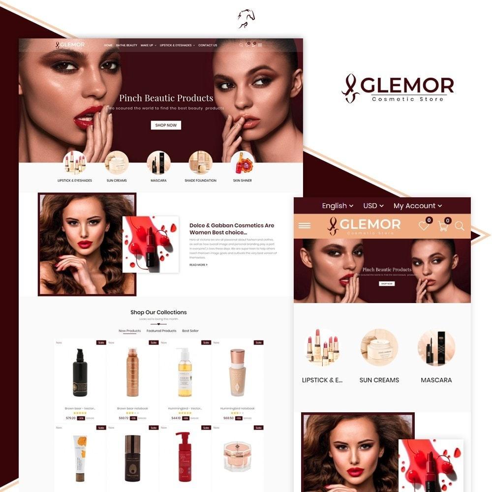 theme - Santé & Beauté - Glemor Cosmetic Store - 1