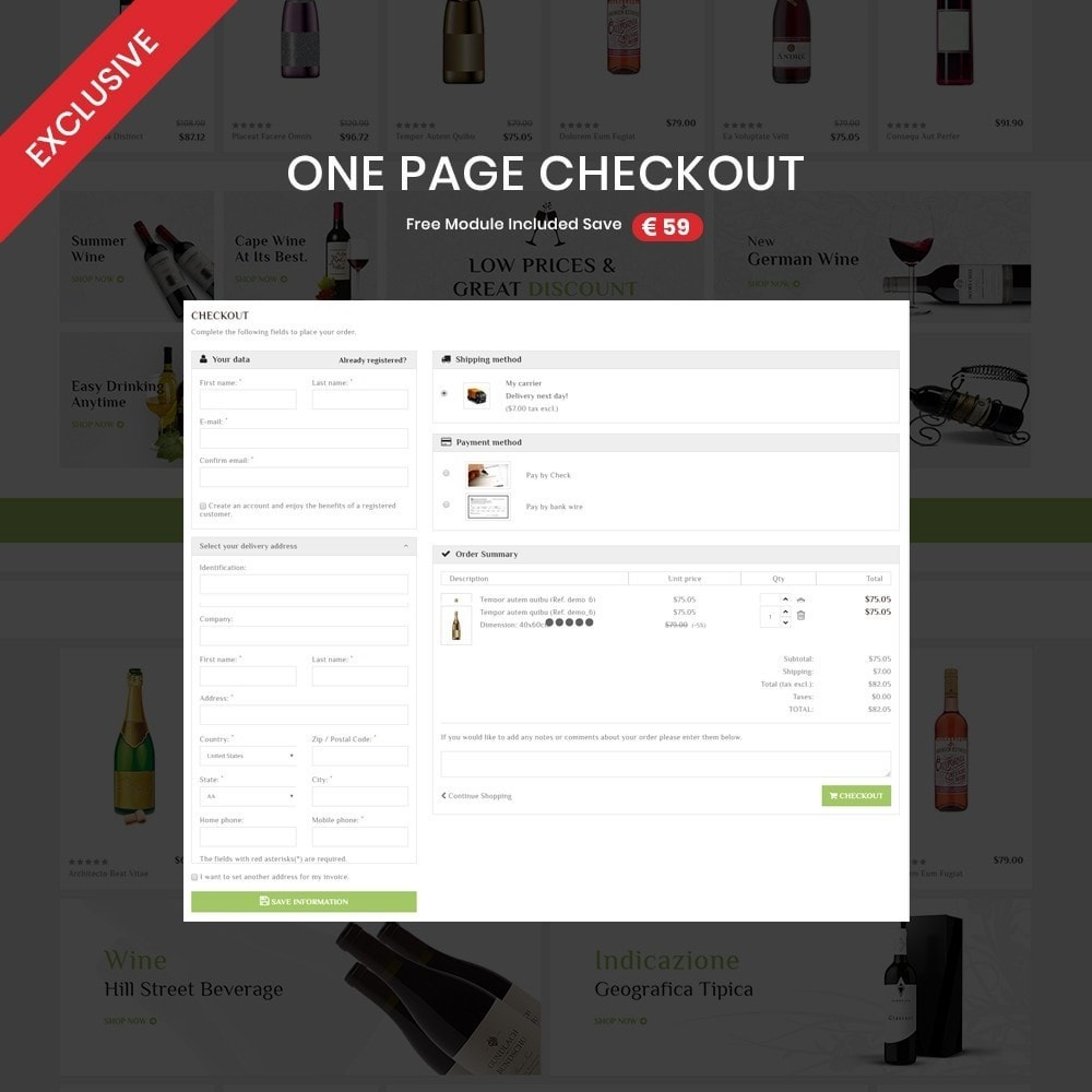 theme - Drink & Tobacco - Bigbazzar wine– Multipurpose Mega Wine Store - 2