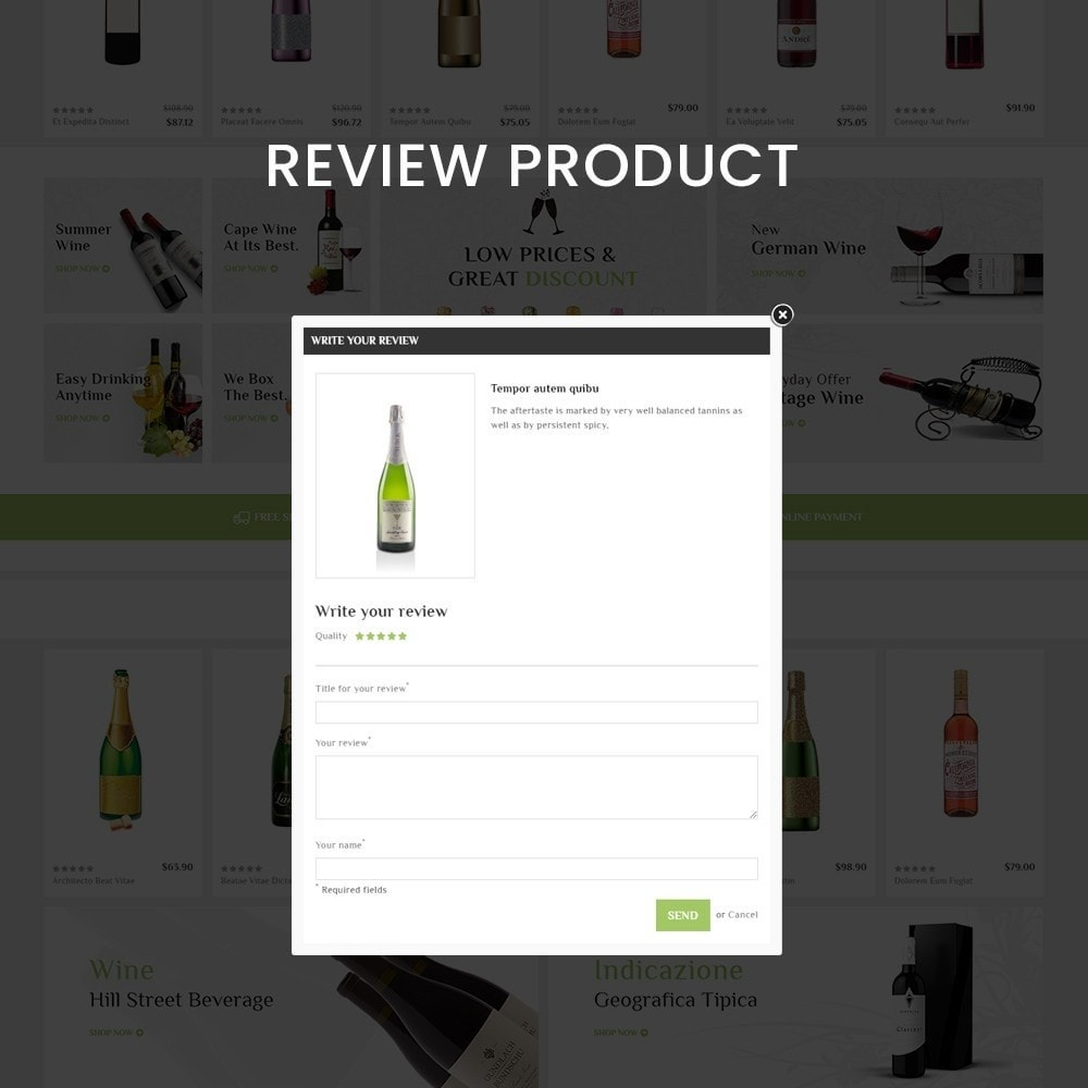 theme - Drink & Tobacco - Bigbazzar wine– Multipurpose Mega Wine Store - 7