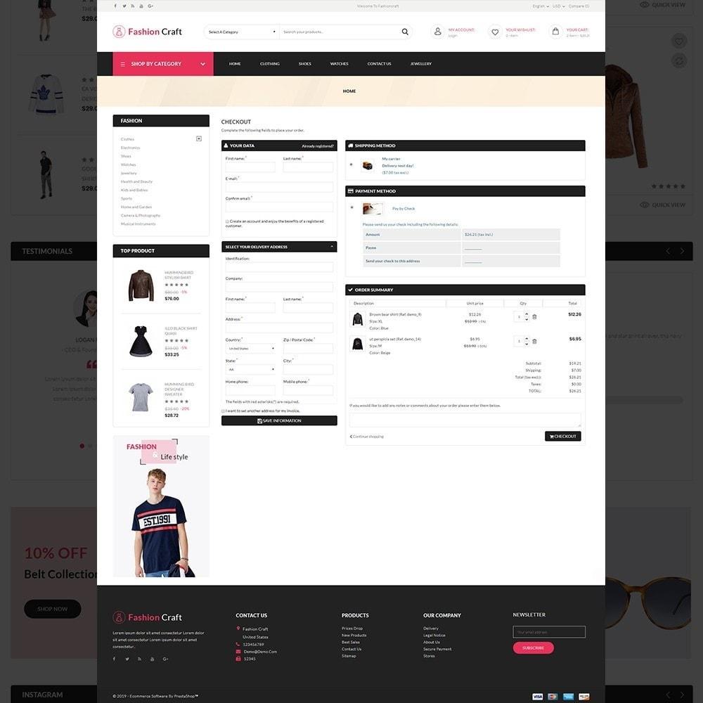 theme - Fashion & Shoes - Fashion Craft - Multipurpose Mega Fashion Store - 10
