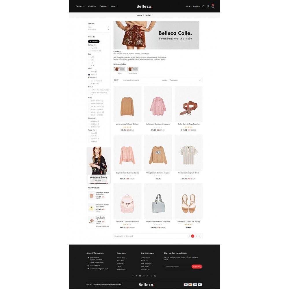theme - Mode & Schuhe - Belleza - Fashion Apparels - 3