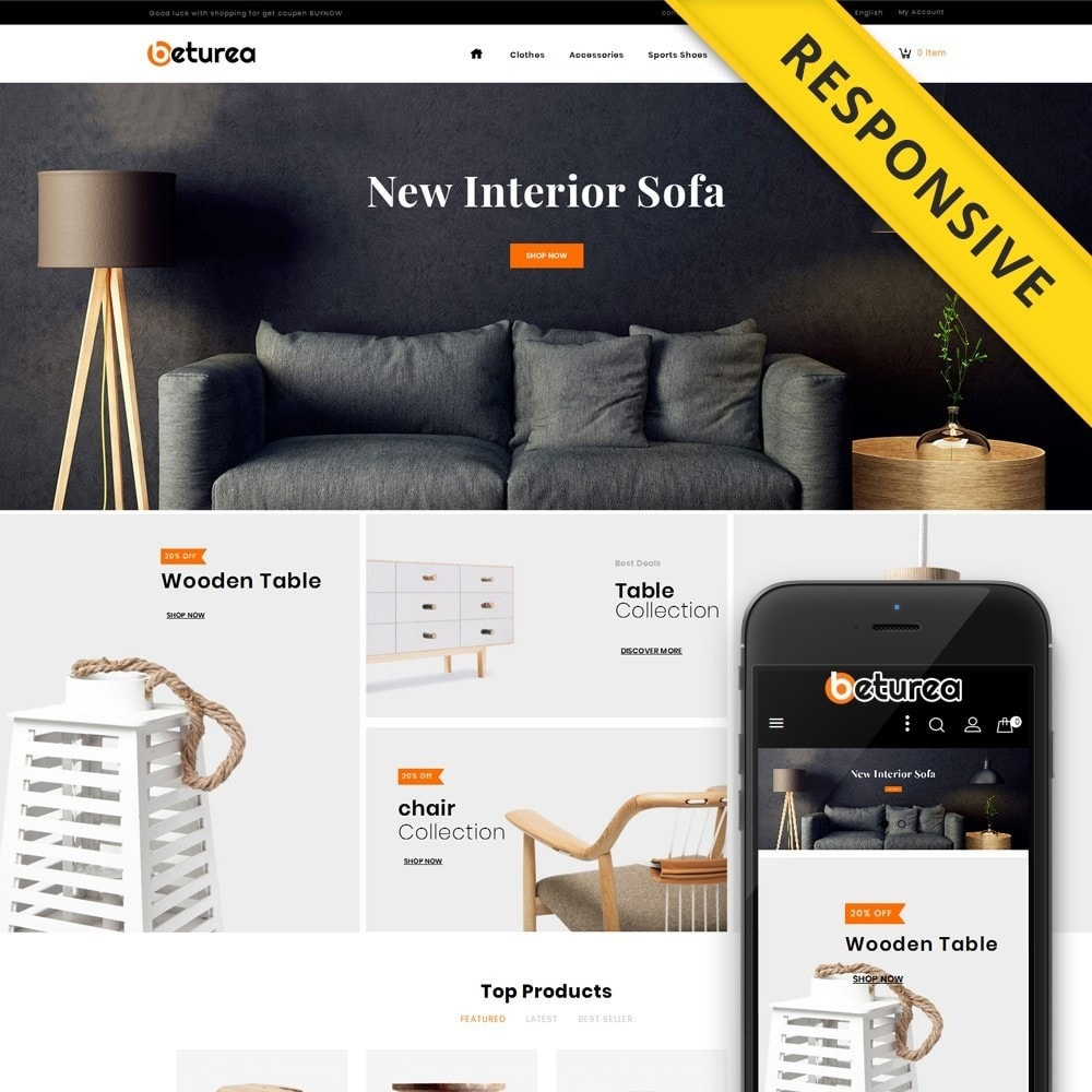 theme - Kultura & Sztuka - Beturea - Furniture Shop - 1
