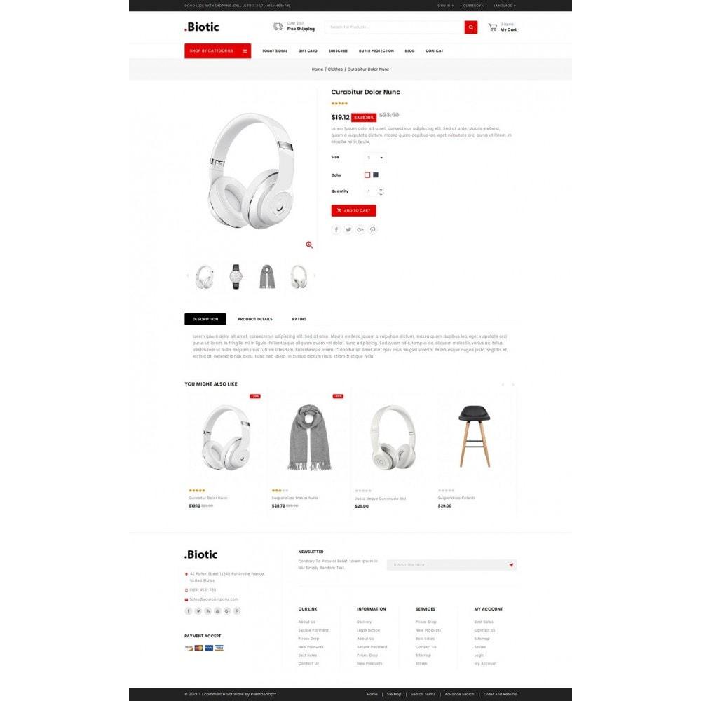 theme - Мода и обувь - Biotic - Multi Purpose Store - 4