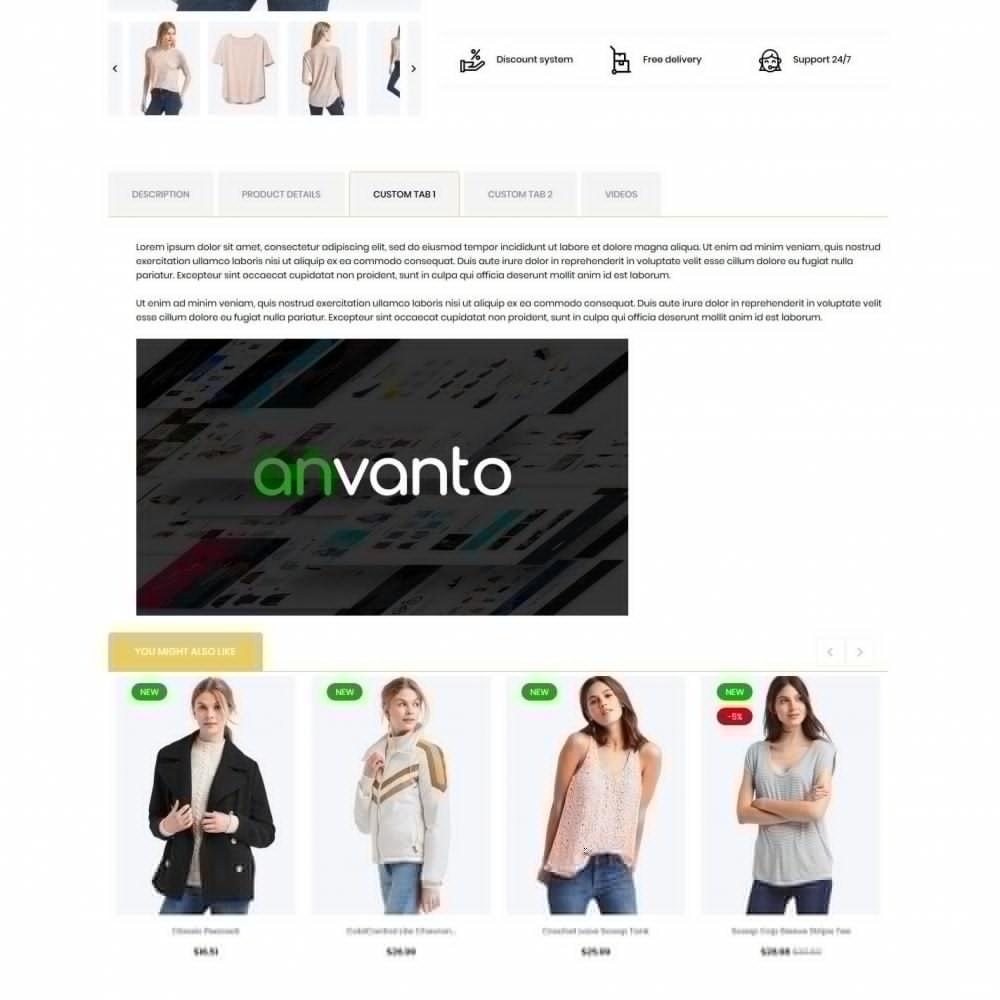 theme - Fashion & Shoes - Leontice Fashion Store - 8