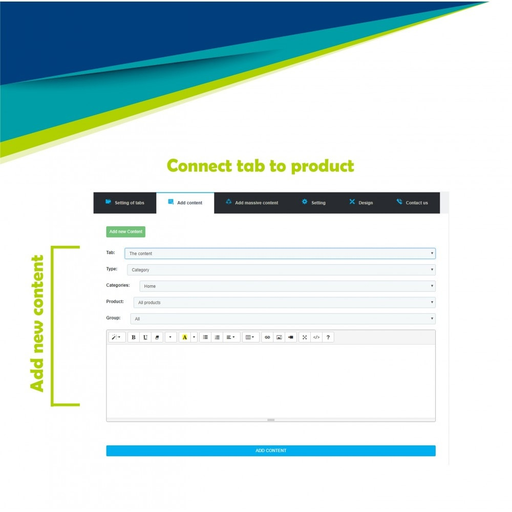 module - Additional Information & Product Tab - Product extra tabs - 11