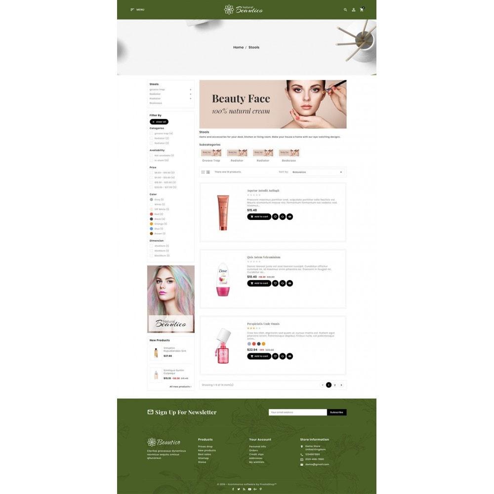theme - Zdrowie & Uroda - Beautico Cosmetics Shop - 4