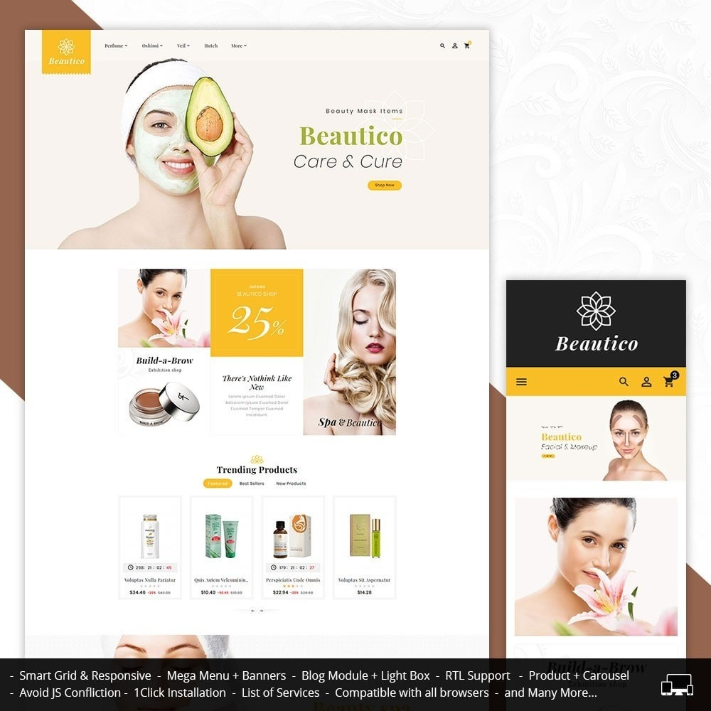 theme - Health & Beauty - Beautico Skin Care - 1