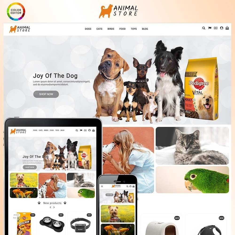 theme - Animaux - Animal Store - 1