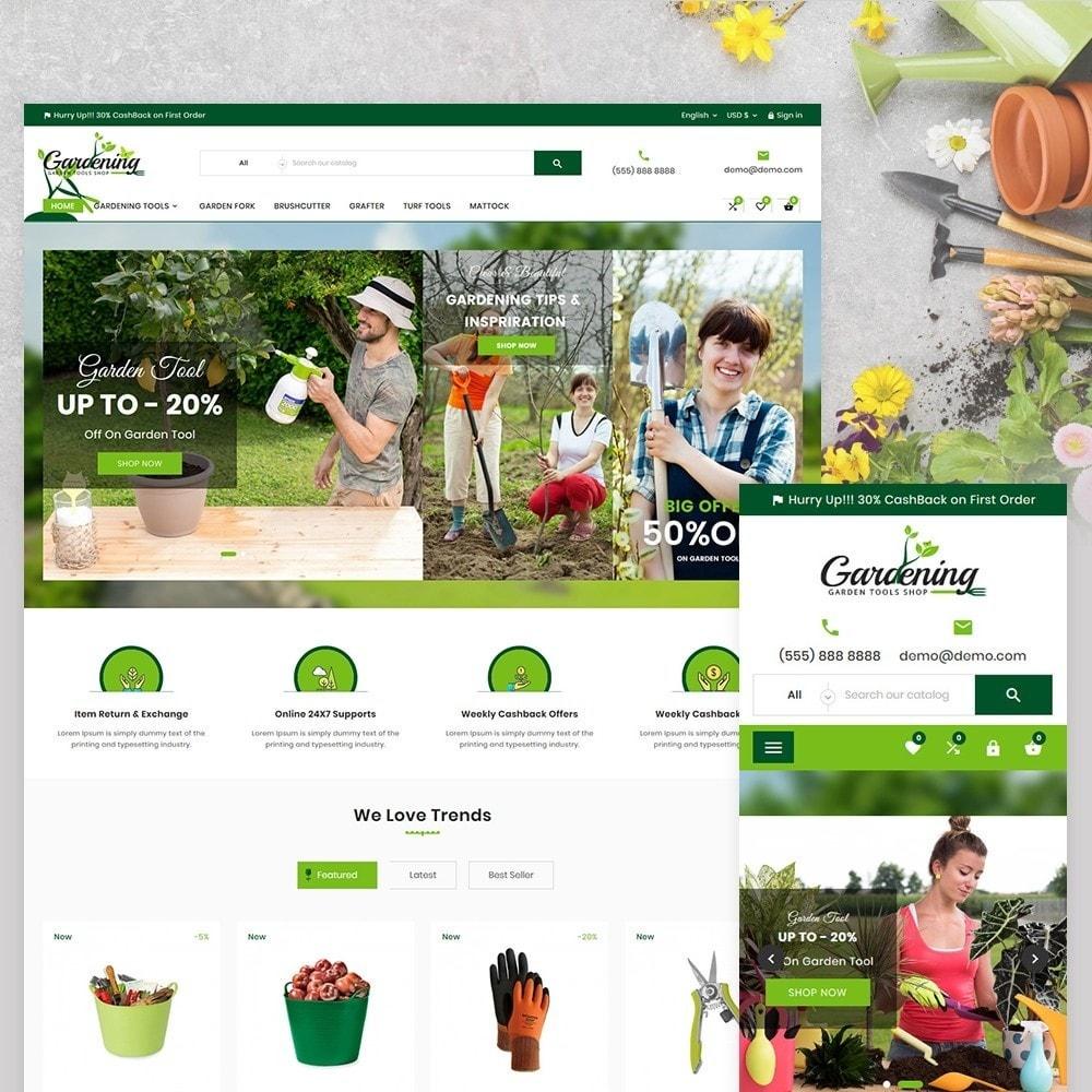 theme - Dom & Ogród - Garding Garden Tool Store - 2