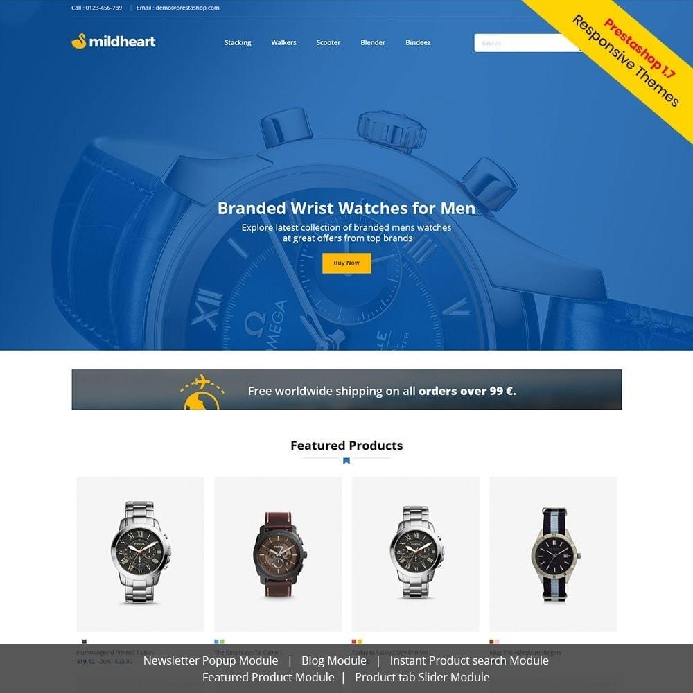 theme - Fashion & Shoes - Mildheart Watch  - Luxury Store - 1