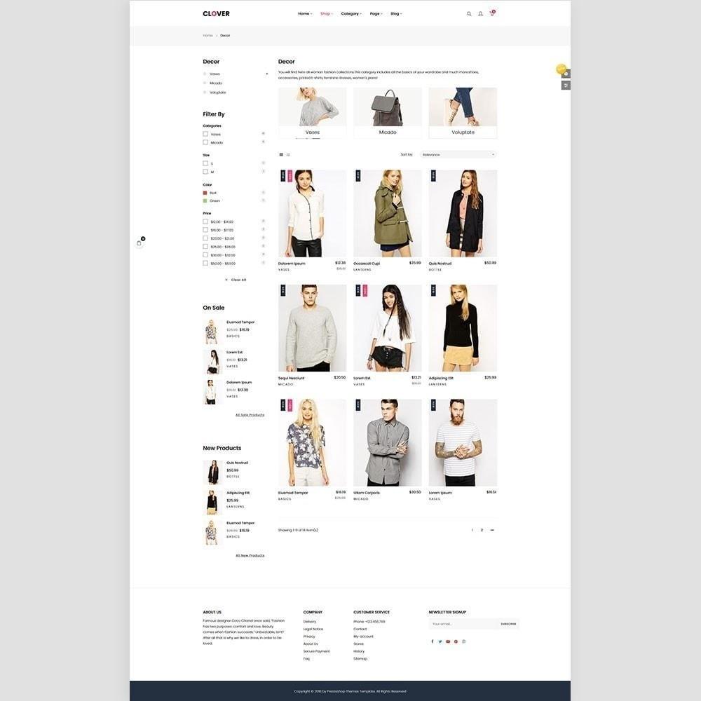 theme - Fashion & Shoes - Clothes Fashion Store   Clothing   Bags   Shoes - 2