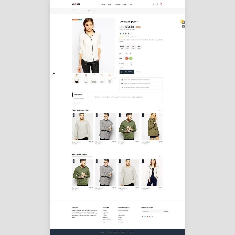 theme - Fashion & Shoes - Clothes Fashion Store | Clothing | Bags | Shoes - 3