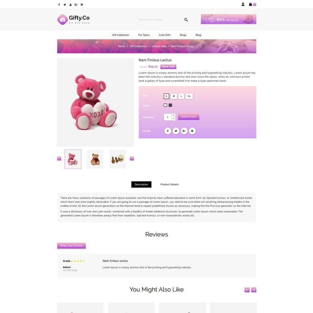 theme - Cadeaus, Bloemen & Gelegenheden - Gifty Co Gift Store - 4