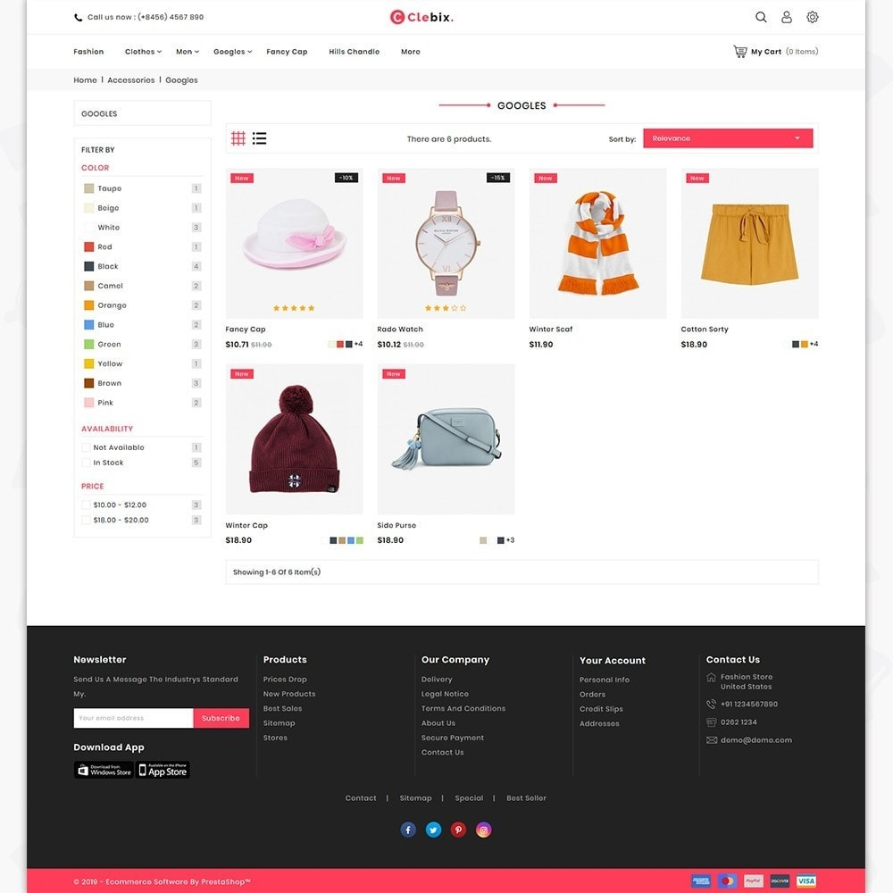 theme - Home & Garden - Caxos - The Fashion Store - 3