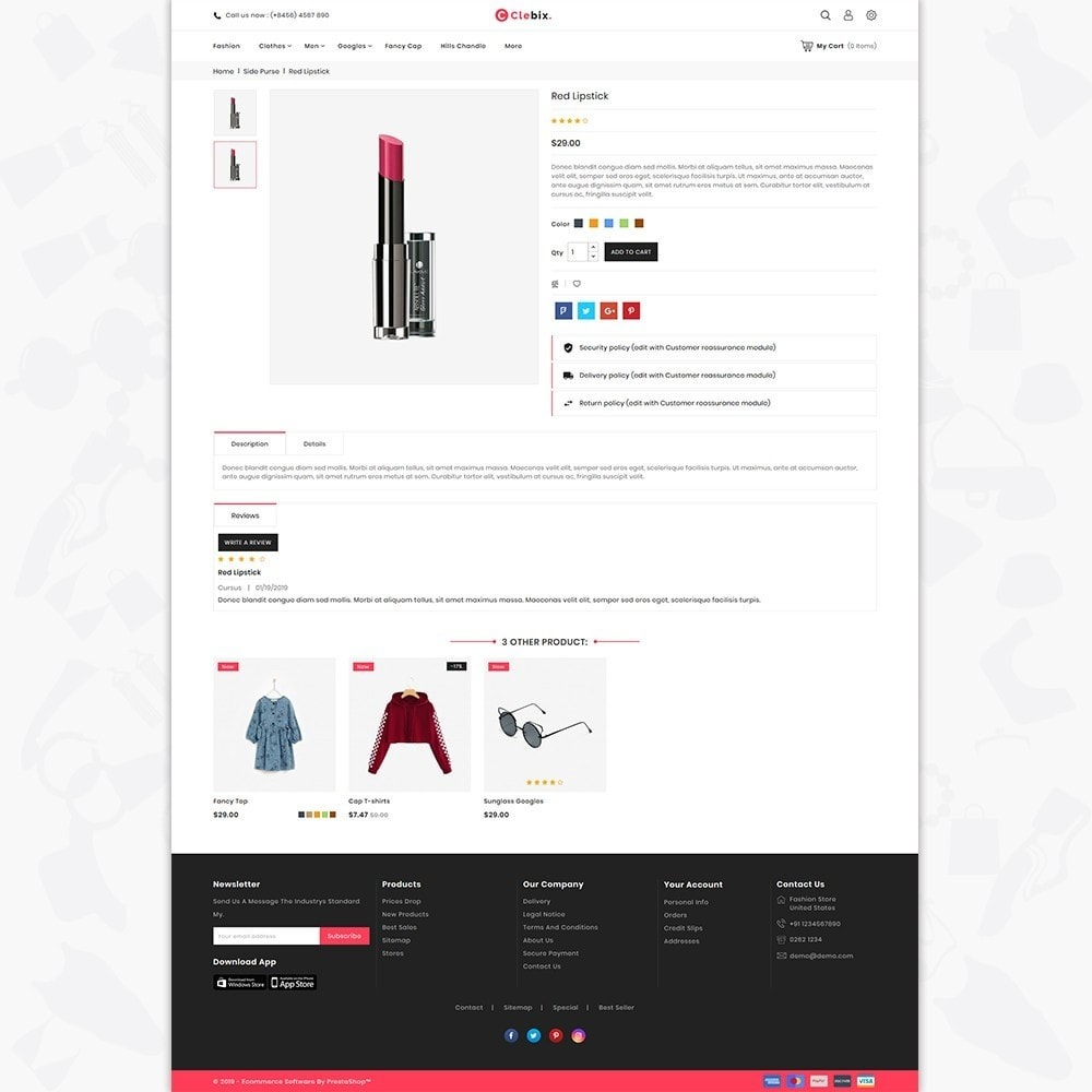 theme - Home & Garden - Caxos - The Fashion Store - 5
