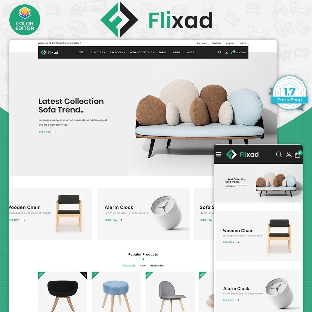 theme - Home & Garden - Flixad - The Best Furniture Store - 1