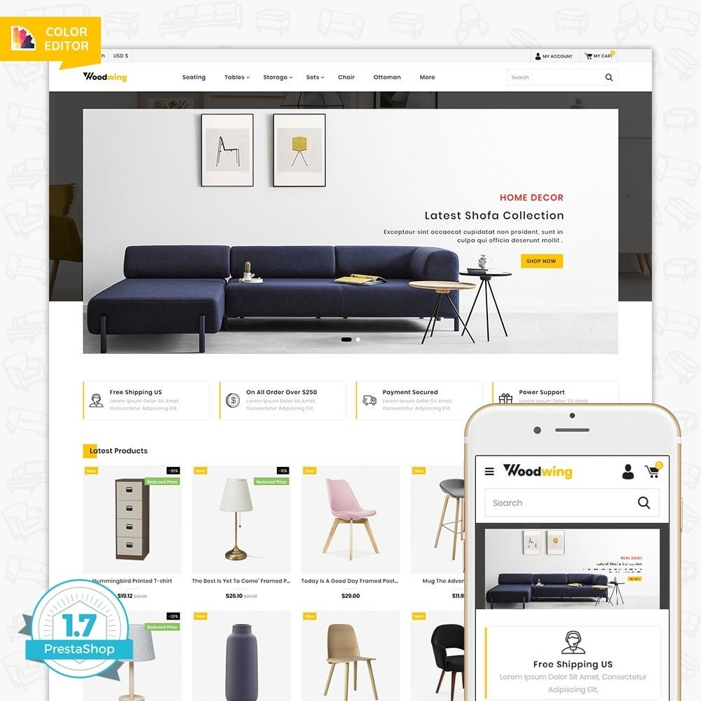 theme - Home & Garden - Woodwing  - The Best Furniture Store - 1