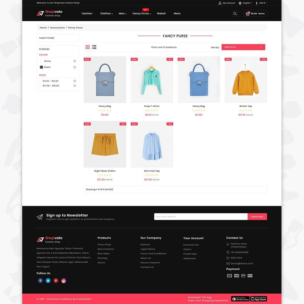 theme - Moda y Calzado - Shopivate -  The Fashion Shop - 3