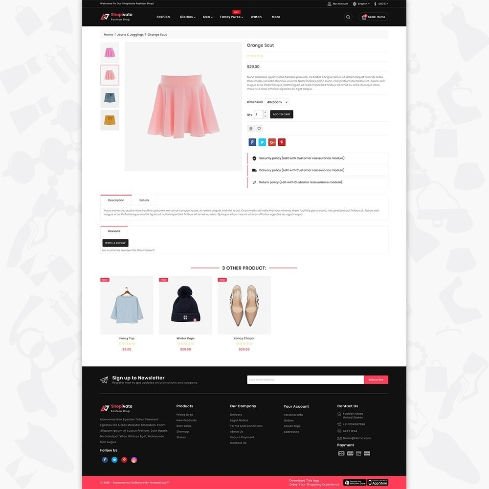 theme - Fashion & Shoes - Shopivate -  The Fashion Shop - 5