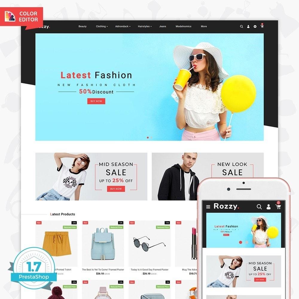 theme - Fashion & Shoes - Rozzy - The Fashion Store - 1