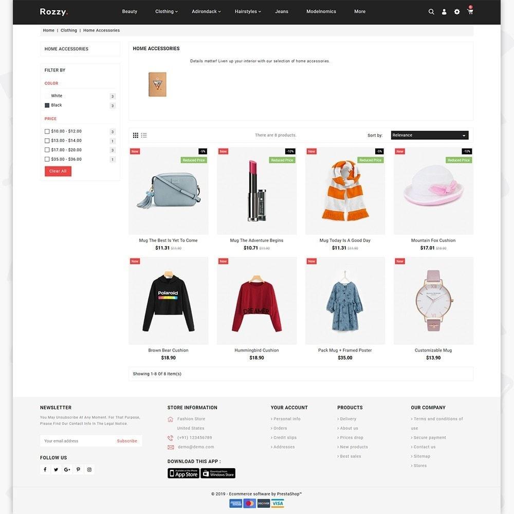 theme - Fashion & Shoes - Rozzy - The Fashion Store - 3