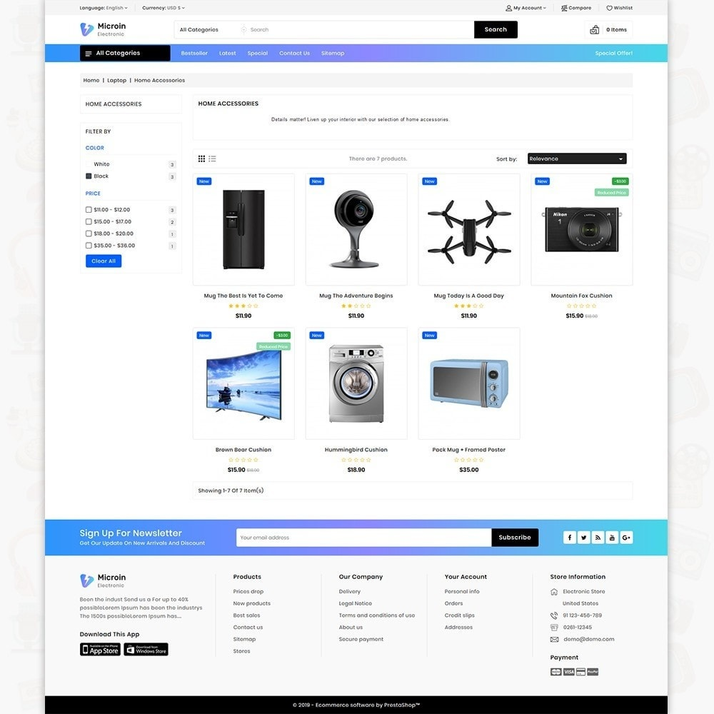 theme - Electronics & Computers - Microin - The Best Electronics Store - 3