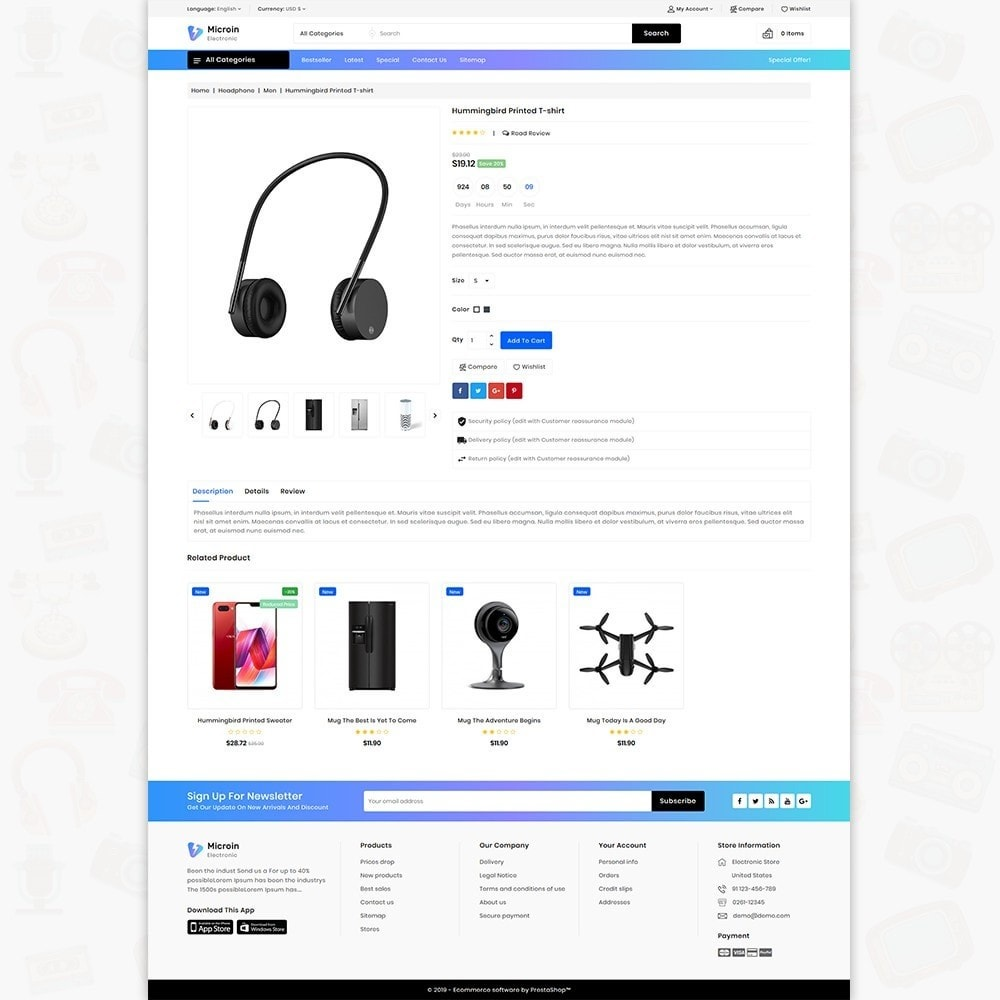 theme - Electronics & Computers - Microin - The Best Electronics Store - 5