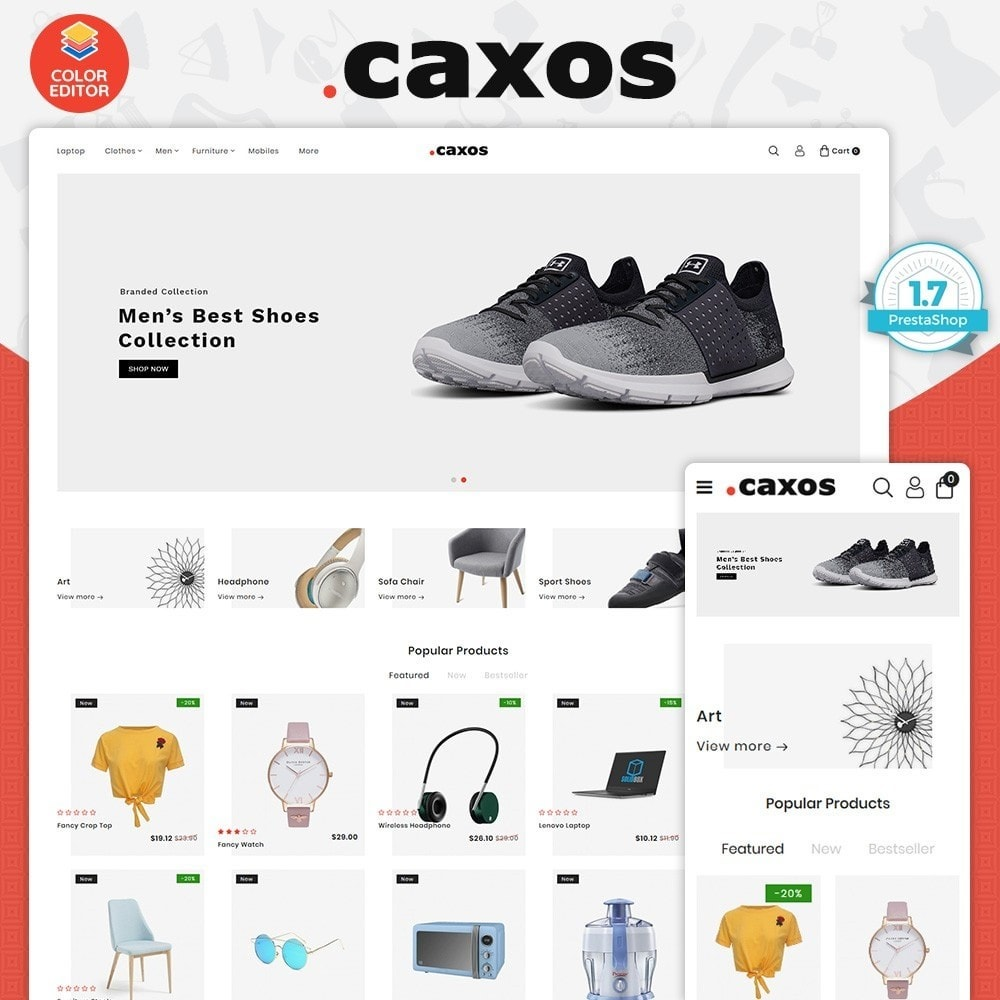 theme - Electronics & Computers - Caxos - The Best Electronics Store - 1