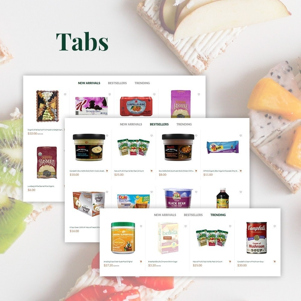 theme - Lebensmittel & Restaurants - GinoFood - Organic Food Store - 4