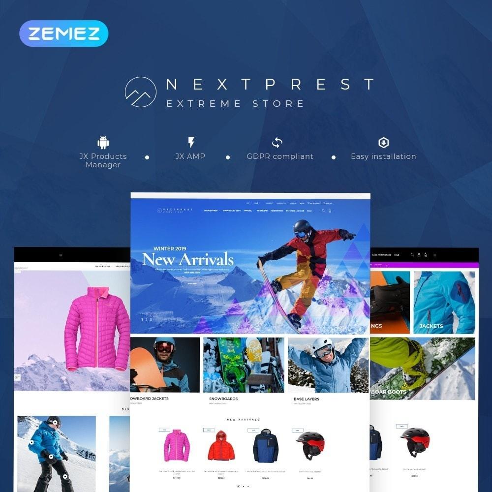 theme - Sport, Loisirs & Voyage - NextPrest - Extreme Store - 1