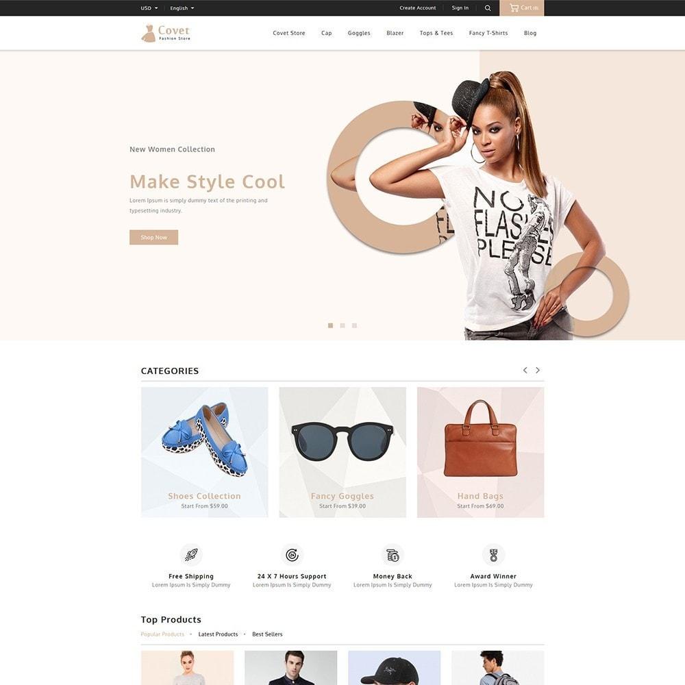 theme - Fashion & Shoes - Covet Fashion Shop - 2