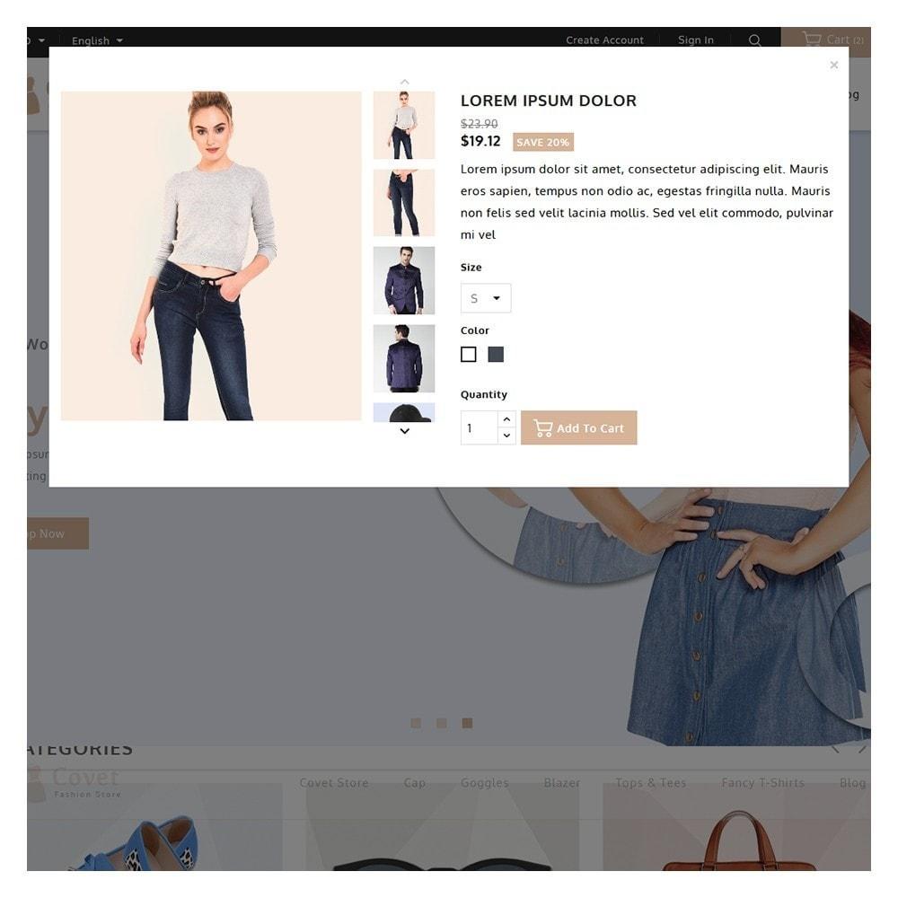 theme - Fashion & Shoes - Covet Fashion Shop - 9
