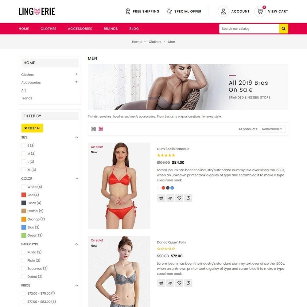 theme - Lenceria y Adultos - Lingerie Store - 5